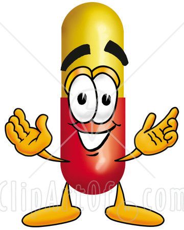7279-Clipart-Picture-Of-A-Medicine-Pill-Capsule-Mascot-Cartoon-Character-With-Welcoming-Open-Arms.jpg